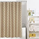 Colordrift Misha Fabric Shower Curtain