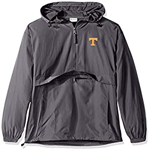 Champion NCAA Indiana Hoosiers Men's Pack & Go Jacket, XX-Large, Graphite