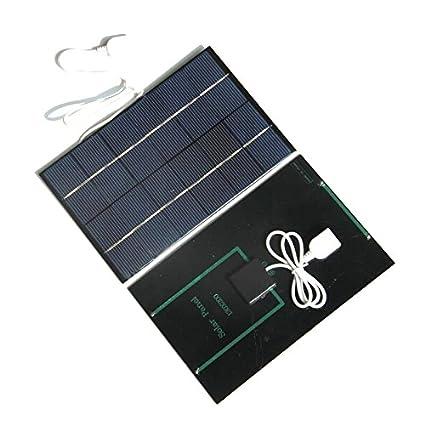 TOOGOO 6V 4.2W Cargador de Panel Solar Policristalino ...
