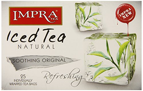 Impra All Natural Iced Tea, Soothing Original, 25 Count