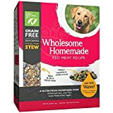 Only Natural Pet Wholesome Homemade Stew Dehydrated Dog Food – Human Grade Formula That Contains Real Wholesome Nutrition, Low Glycemic, Non-GMO – Red Meat Recipe 6 lb Box (Makes 18 lbs of Food)