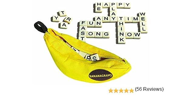 Amazon.es: Bananagrams Juego de Palabras (2 Unidades): Juguetes y juegos