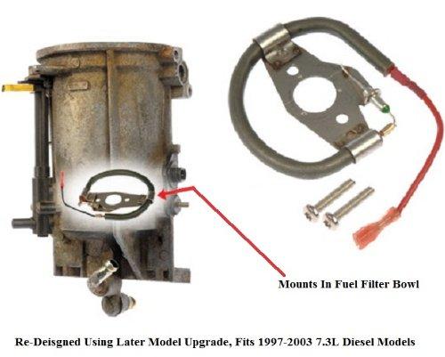 94-2003 Ford 7.3L Diesel Fuel Heating/Heater Element F5TZ-9J294-A/F81Z-9J294-AA