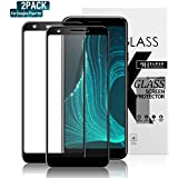 Gozhu (2-Pack) Google Pixel 3a Tempered-Glass Screen Protector, Bubble Free, Fingerprint, Scratch, and Force-Resistant,Case-Friendly Screen Protector for The Google Pixel 3a