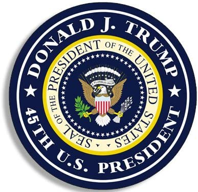 small us potus Sheet of 45 1 inch Round Presidents United States Stickers