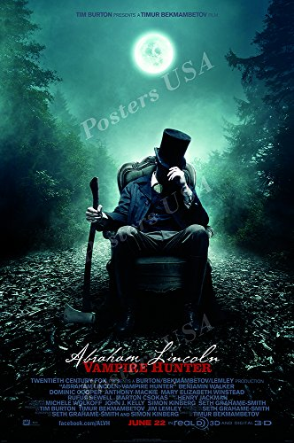 Posters USA - Abraham Lincoln The Vampire Hunter
