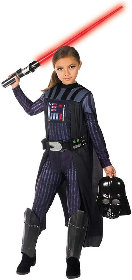 Horror-Shop Darth Vader Disfraz de Chica L: Amazon.es: Juguetes y ...