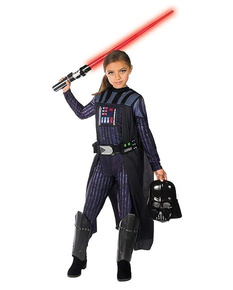 Horror-Shop Darth Vader Disfraz de Chica L: Amazon.es ...