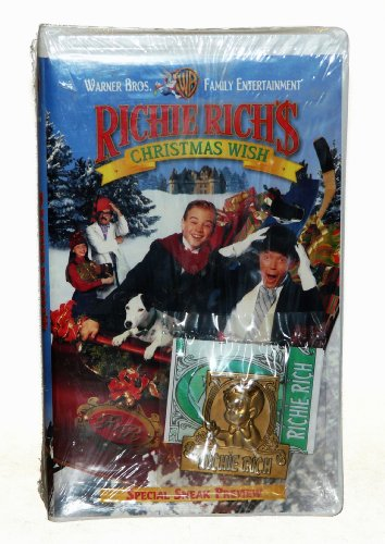 Amazon.com: Richie Rich's Christmas Wish Vhs w/ Money Clip ...