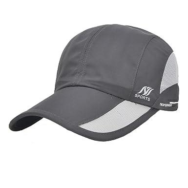 00117cd0837 Unisex Quick Dry Baseball Cap Golf Hat Sports Cap Summer Breathable  Lightweight Sun Hat Sun Protection