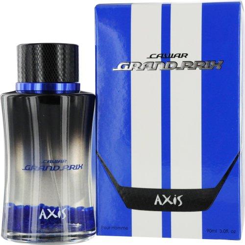Axis Cavier Grand Prix Eau-de-Toilette Spray for Men, Blue, 3.0 Ounce