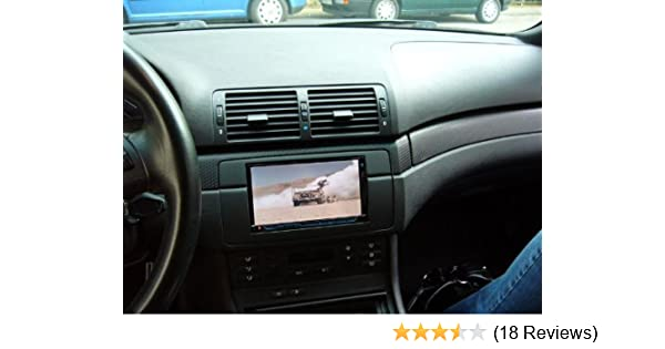 BMW 3 SERIES E46 DOUBLE DIN RADIO STEREO INSTALL DASH KIT 318 323 325 328 330 M3