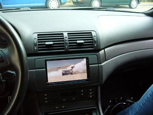 51sK6 k3bqL amazon com bmw e46 3 series double din radio stereo installation  at bayanpartner.co