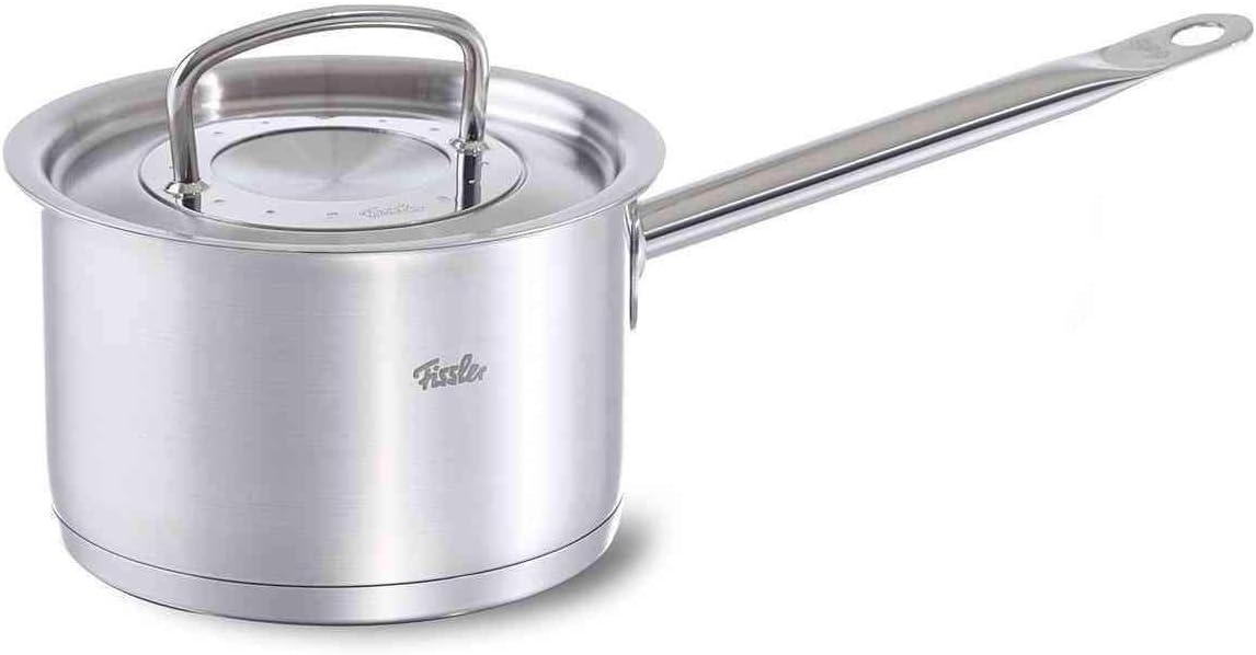 Fissler USA original profi-collection Stainless Steel Saucepan Induction, 2.1 Quart