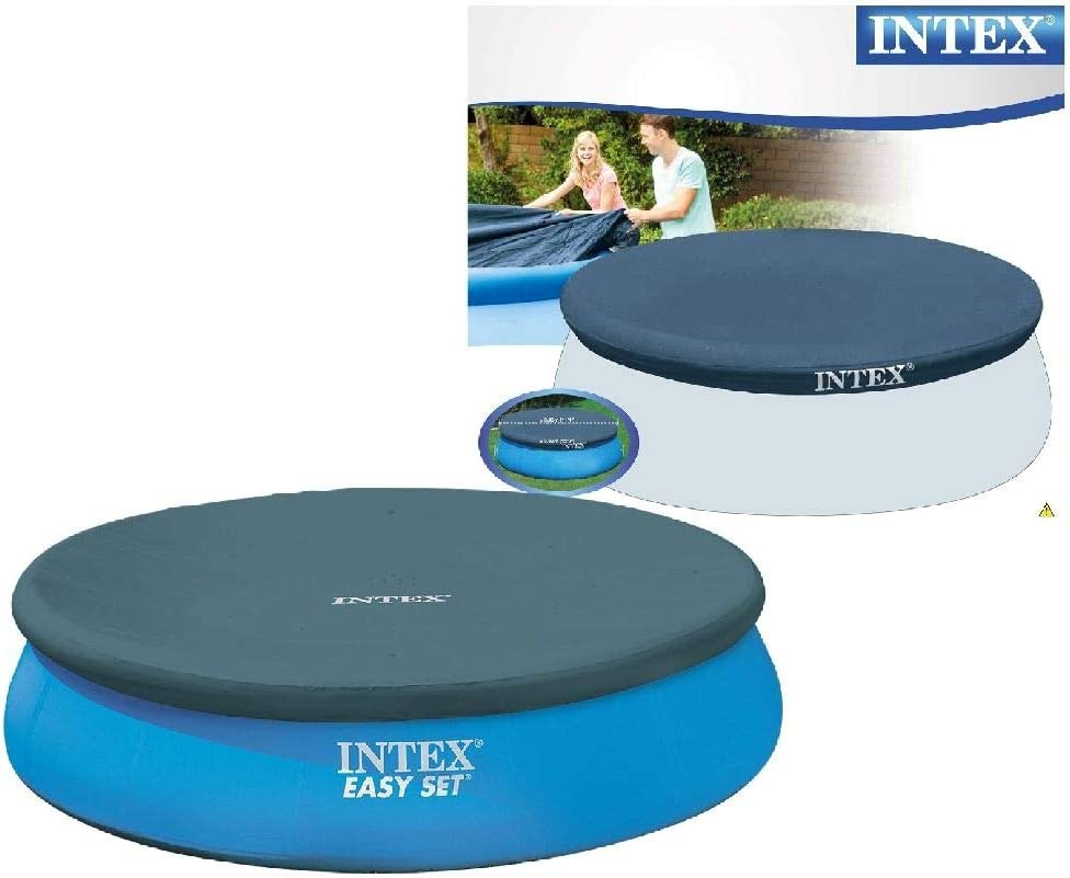 Intex 28022 - Cobertor piscina hinchable Easy Set 366 cm