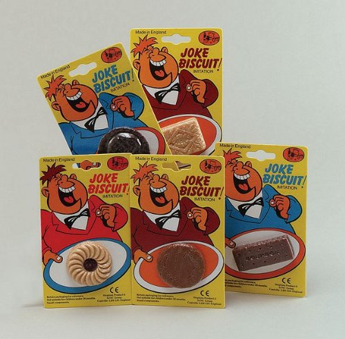 Fake Jaffa Cake Biscuit Joke Toy (Jaffa Cakes Biscuits)
