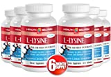 L-lysine - L-LYSINE 1000MG - immune booster (6 Bottles - 600 tablets)