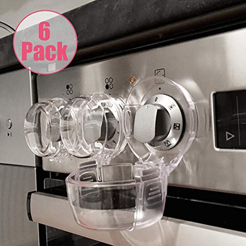 gas stove knob safety cover - 4