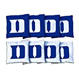 NCAA Duke Blue Devils Unisex 921238Cornhole Bag Set (Corn Filled), Multicolor, One Size