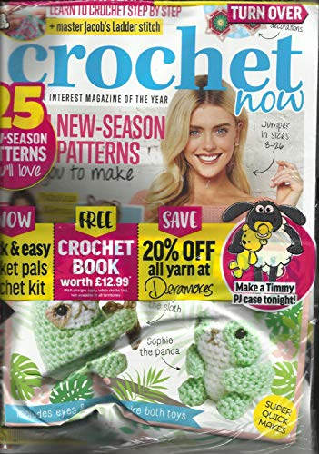 CROCHET NOW MAGAZINE, ISSUE, 32 MAY BE FEW FREE GIFTS ARE MISSING. NOT SURE