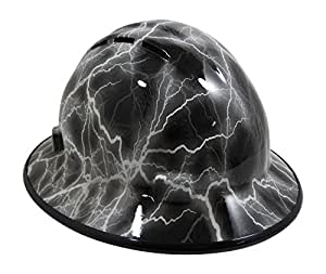 e11f356277c HardHatGear Custom Hydro Dipped VENTED Full Brim Hard Hat in ...