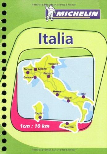 Italy Atlas No. 97 (Mini-Spiral) Michelin (Michelin Atlas)