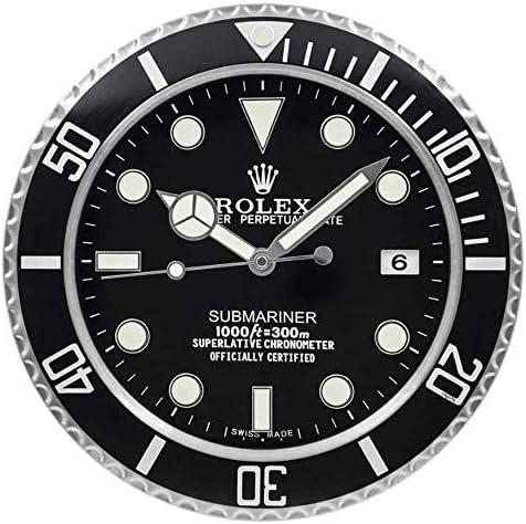 Rolex Rolex GMT 2 Rolex Submariner, Rolex Deepsea, Rolex Submariner Hulk, Rolex GMT Pepsi, Rolex GMT Batman, Rolex Deepsea Sea Dweller James Cameron - Reloj de Pared