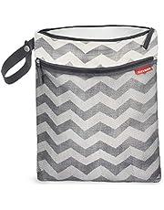 Skip Hop Grab & Go Wet/Dry Bag Chevron, 12lx0.50bx15h inches