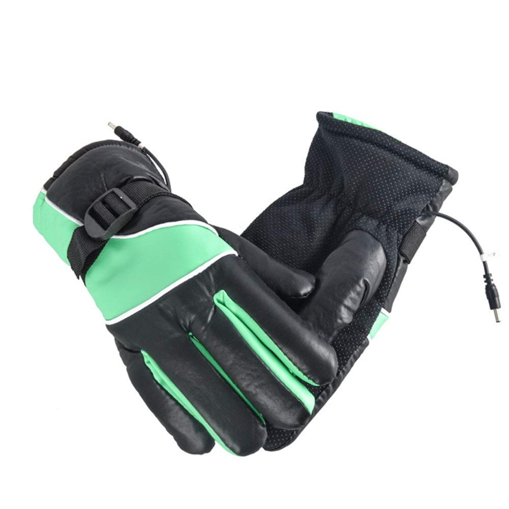 Pkmamsh Special warm Winter Electric Heating Gloves for Men