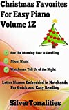 Christmas Favorites for Easy Piano Volume 1Z