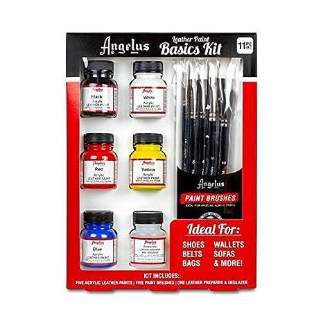 Angelus brand pennello Pack set da 5