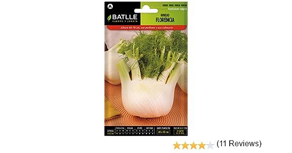 Semillas Hortícolas - Hinojo de Florencia - Batlle: Amazon.es: Jardín