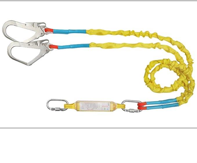 OTENGD Cordón de Seguridad de Estiramiento Tubular de Doble Pata ...