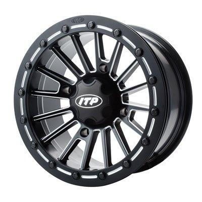 ITP SD Beadlock Milled/Matte Black ATV Wheel Front/Rear 15x7 4/156 - (4+3)