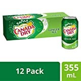 Canada Dry Ginger Ale 355 mL Cans, 12 Pack