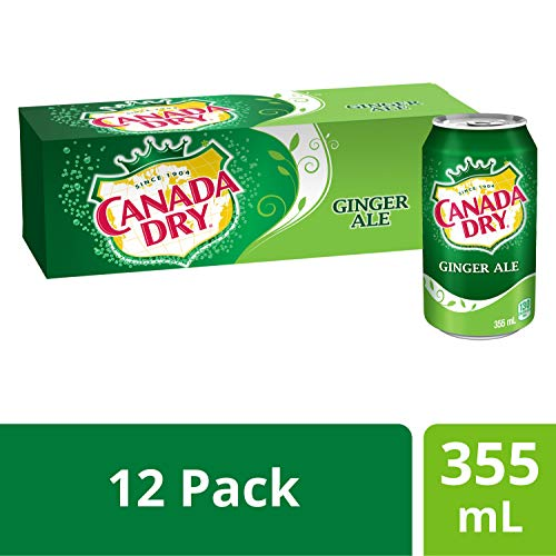 Canada Dry Ginger Ale, 12 Count, 355 ml - Imported from Canada