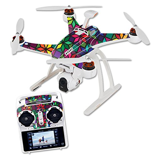 Skin For Blade Chroma Quadcopter – Stained Glass Window | MightySkins Protective, Durable, and Unique Vinyl Decal wrap cover | Easy To Apply, Remove, and Change Styles | Made in - E Chroma Glasses