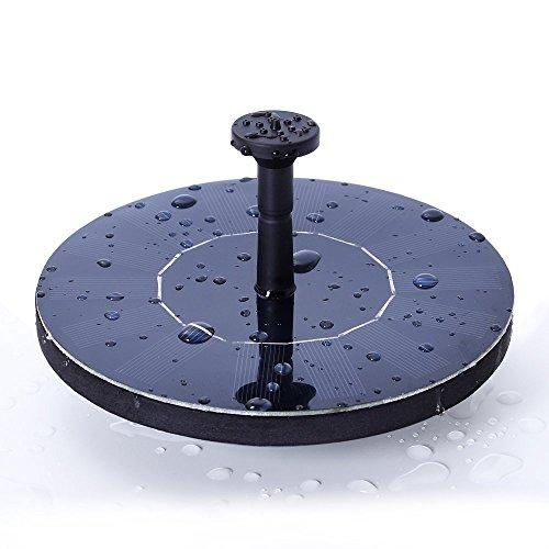 Review SOARAISE Solar Fountain Pump,
