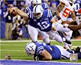 Andrew Luck Indianapolis Colts 2014 NFL Playoff Action Photo 8x10