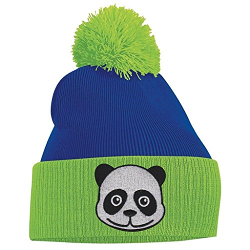 Pom and Beanie White Panda Pom Off Face Red O1wOqd