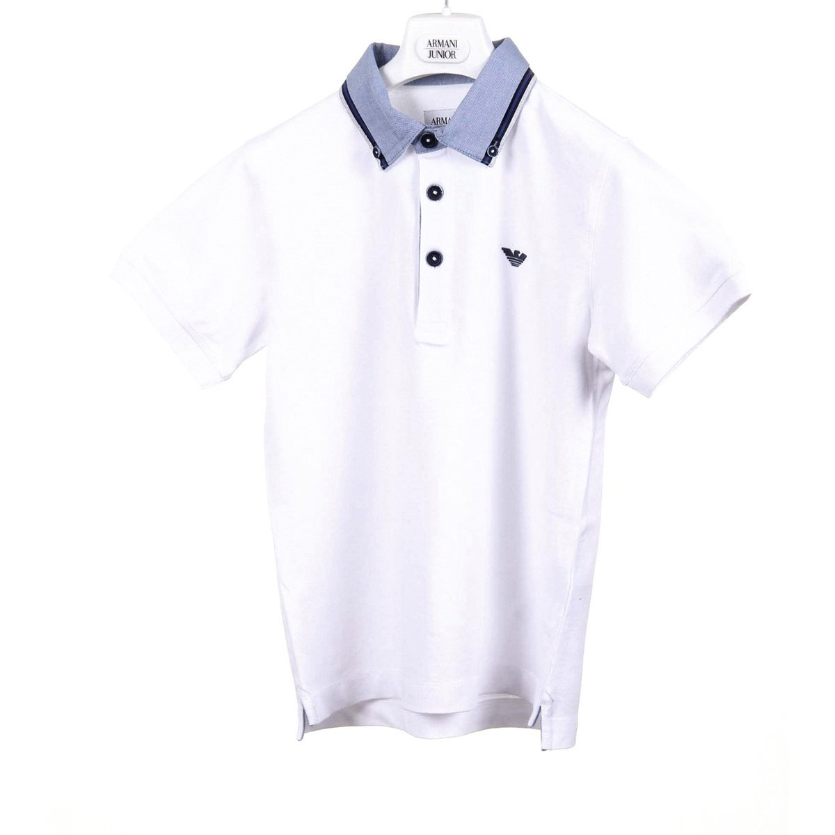 polo bebé Armani Junior boys polo c4f04 jq 10-white 8A: Amazon.es ...