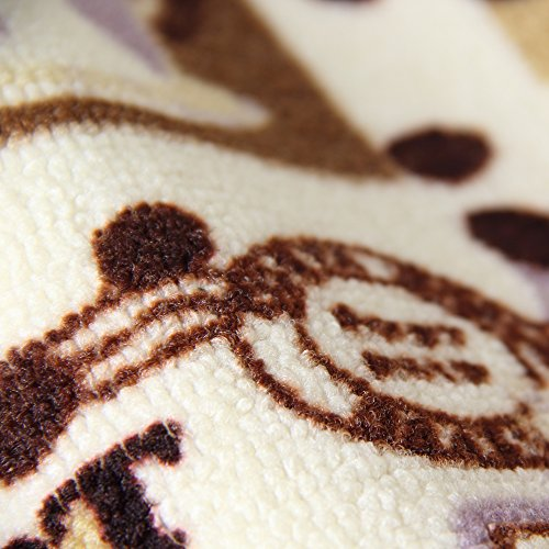 Carvapet 3 Piece Non-Slip Kitchen Mat Rubber Backing Doormat Runner Rug Set, Coffee Design (Brown 15''x47''+15''x23'') by Carvapet (Image #3)