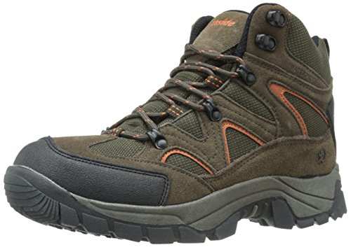 Image of Northside Mens Snohomish Leather Waterproof Mid Hiking Boot