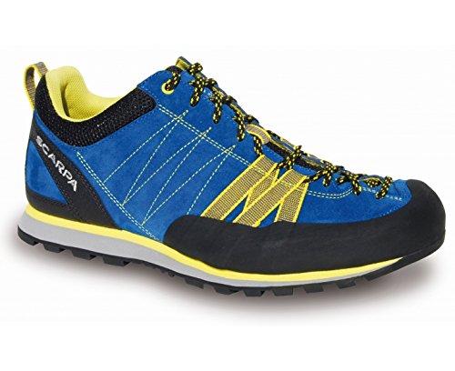 Scarpa Men's Crux Approach Hiking Shoe hyper blue/yellow cheap sale discounts newest cheap online footlocker pictures cheap price kqvsZfB0Bt
