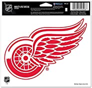 Wincraft NHL Detroit Red Wings Multi-Use Colored Decal, 5-Inchx6-Inch