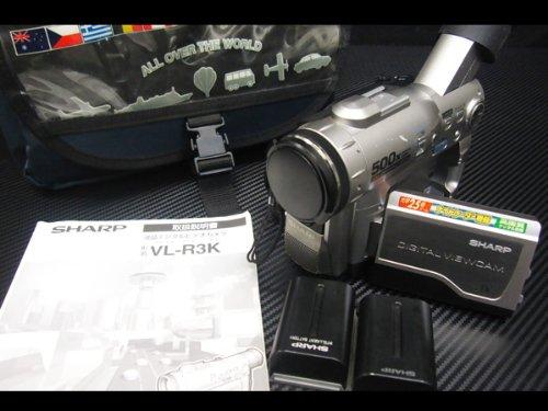 SHARP シャープ 液晶デジタルビデオカメラ VL-R3K miniDV