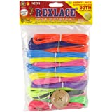 Pepperell Rexlace 90th Anniversary Variety Jewelry Making Pack, 450-Feet, Neon