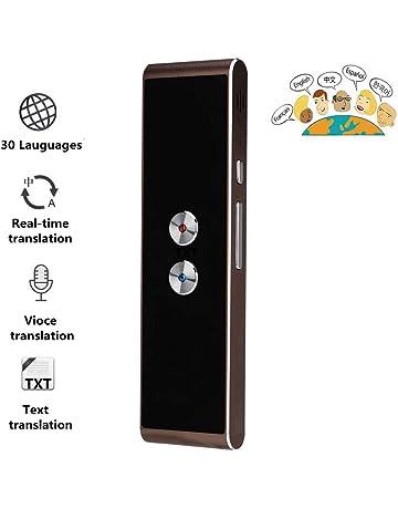 ERLIANG Macchina di traduzione Intelligente Offline traduttore simultaneo allestero Viaggio Portatile apprendimento di Lingue straniere Multi-Lingua,Black