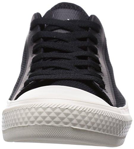 Scarpe Da Uomo Mens Phillips 3d Stampato Mesh Moda Sneakers Davvero Nero Picchetto Bianco