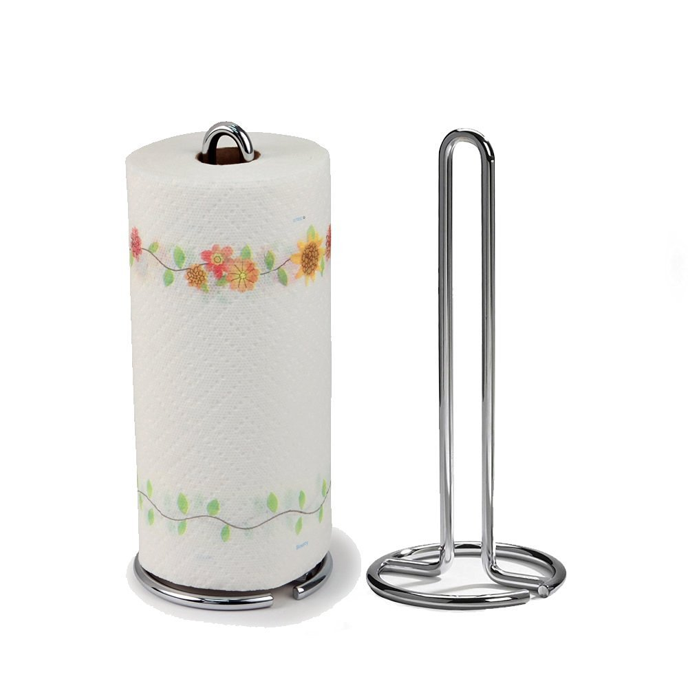 amazoncom spectrum diversified euro paper towel holder chrome  - amazoncom spectrum diversified euro paper towel holder chrome home kitchen